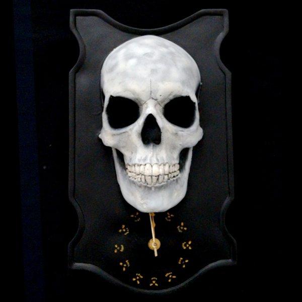 3D Skull Clock