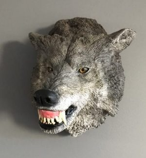 Timber Wolf Plaque
