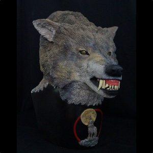 Timberwolf bust